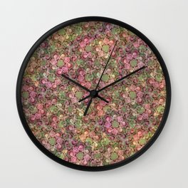 Beautiful Succulent Garden Wall Clock