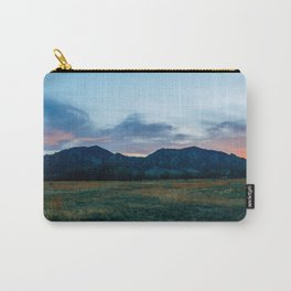 Boulder Sunset Carry-All Pouch