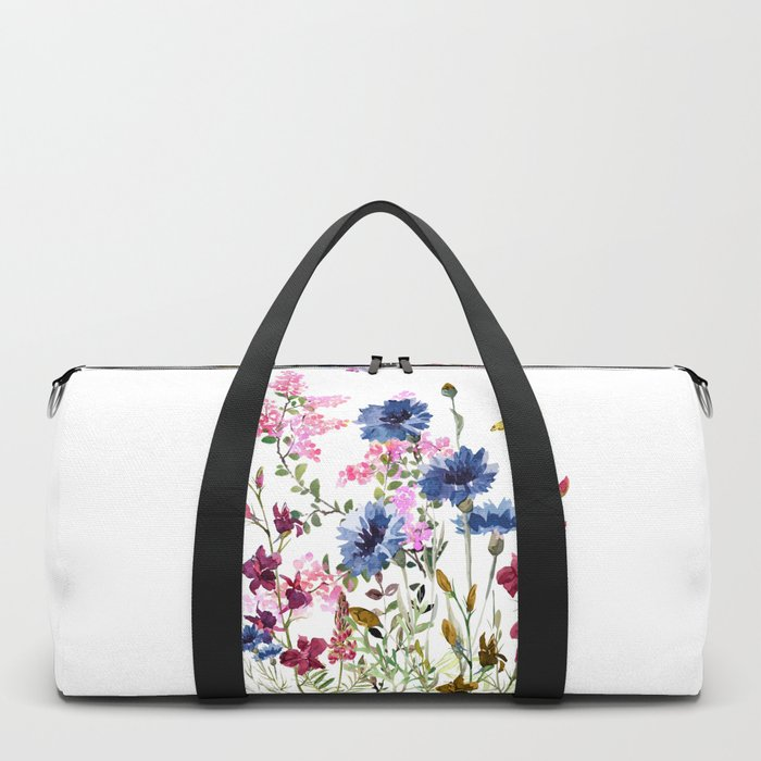 Wildflowers IV Duffle Bag