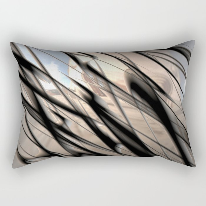 Metal 4 Rectangular Pillow