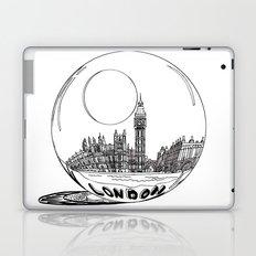 London in a glass ball Laptop & iPad Skin