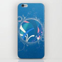 SuperNova In Bubbles iPhone Skin