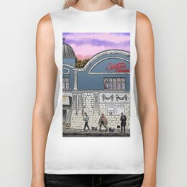 London Cinema Biker Tank