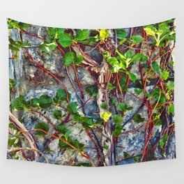 Climbing Vines - Nature's Art Work Wall Tapestry