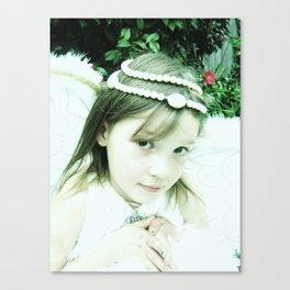 Littlest Angel Canvas Print