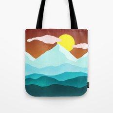 Flat Landscape Tote Bag