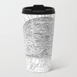 Mosaic Sunrise Travel Mug