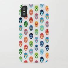 Lucha libre mask pattern iPhone X Slim Case