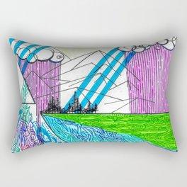 landscape of wonder Rectangular Pillow