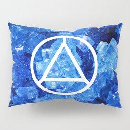 Sapphire Candy Gem Pillow Sham