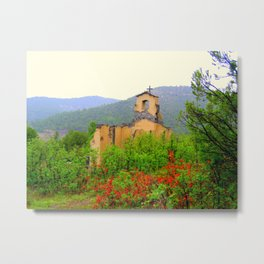 Old Morley Mission Metal Print