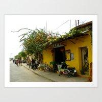 vietnam Art Prints featuring Vietnam by BangBang