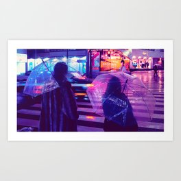 Tokyo Nights / The Crossing / Liam Wong Art Print