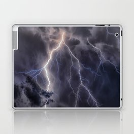 Stormy Weather - Purple Laptop & iPad Skin