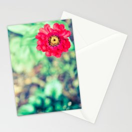 Ruby Petals Stationery Cards