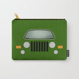 green jeep Carry-All Pouch