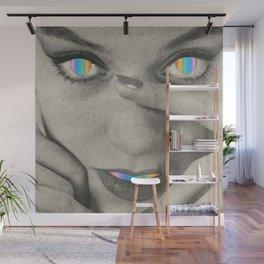 Internal rainbow Wall Mural
