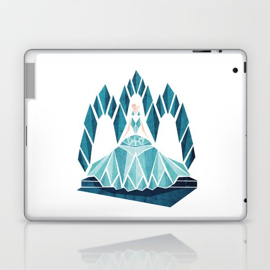 Waiting ( The Snow Queen ) Laptop & iPad Skin
