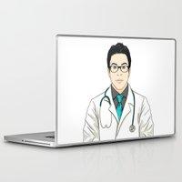 doctor Laptop & iPad Skins featuring Doctor by BusOne - Aldo Campilongo