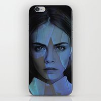 cara delevingne iPhone & iPod Skins featuring Cara Delevingne  by TRUANGLES