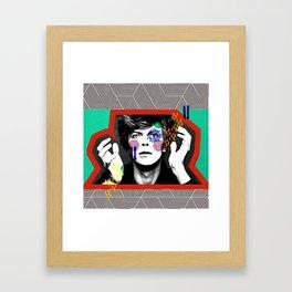 King Bowie Framed Art Print