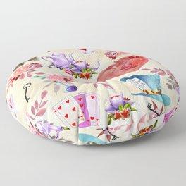 My Alicia in Wonderland Floor Pillow