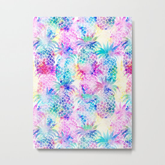 Pineapple Dream Metal Print