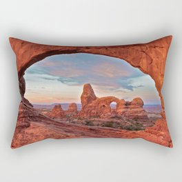 Arches National Park - Turret Arch Rectangular Pillow