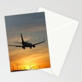 Airliner 07 Stationery Cards