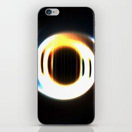 Fading Circle iPhone Skin
