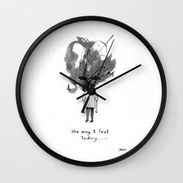 the way i feel Wall Clock