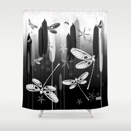 CN DRAGONFLY 1012 Shower Curtain