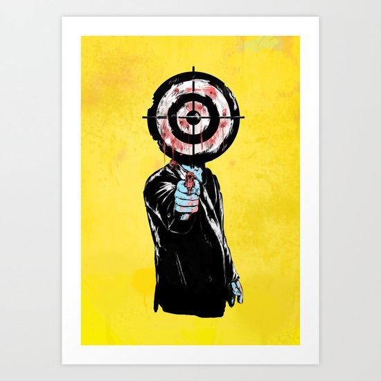 the revenge Art Print