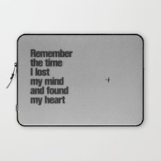 Remember The Time... Laptop Sleeve