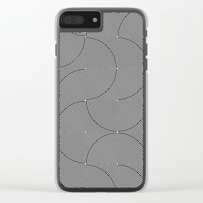 concentric 03 Clear iPhone Case