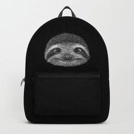 Sloth portrait Backpack