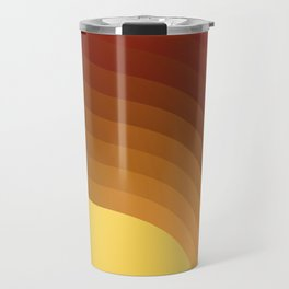 Hot sun - minimal art Travel Mug