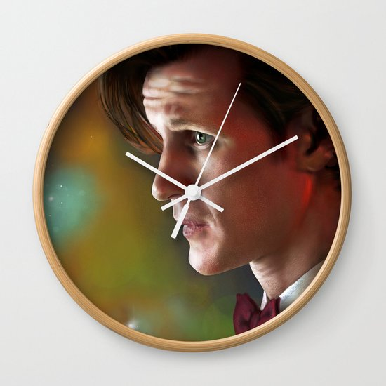 'Ancient and Forever' - (Doctor Who) Wall Clock