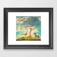 Love without rules Framed Art Print