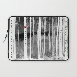 Mirror of nature Laptop Sleeve