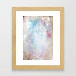 Space Implode Framed Art Print