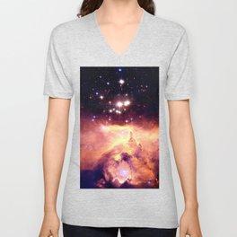 Galaxy nebUla : Warm Scorpius Unisex V-Neck