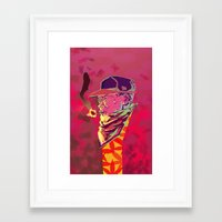 chance the rapper Framed Art Prints featuring Chance the Rapper by Dariel Filomeno