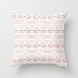 Scandi-Sticks A - Horizontal - Valentine A Throw Pillow