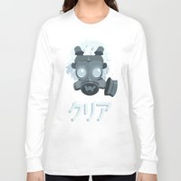 clear Long Sleeve T-shirts featuring Clear. by Dani Does Art