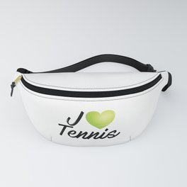 i love tennis Fanny Pack
