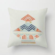 pyramids 2 Throw Pillow