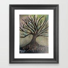 Bare tree-2 Framed Art Print
