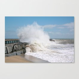 Blustery Day Canvas Print