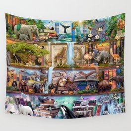 The Amazing Animal Kingdom Wall Tapestry